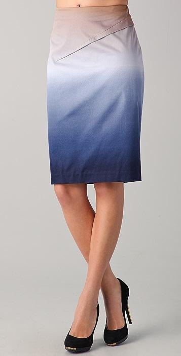 Rachel Roy Ombre Pencil Skirt