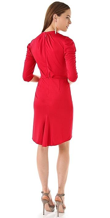 Rachel Roy Tuck Sleeve Jersey Dress