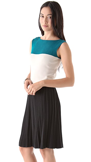 Rachel Roy Colorblock Knit Dress
