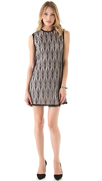Rachel Roy Deco Lace Mini Dress