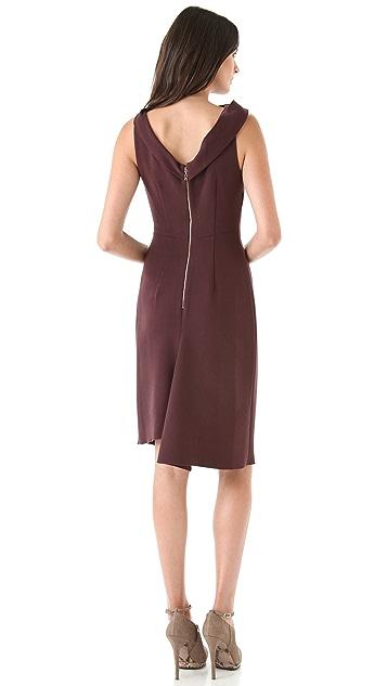 Rachel Roy Drape Neck Dress