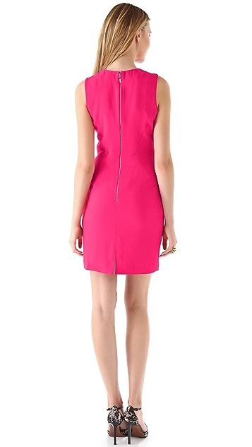 Rachel Roy Keyhole Sleeveless Dress