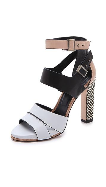 Rachel Roy Fawn Ankle Strap Sandals