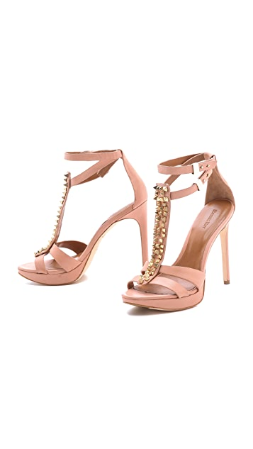 Rachel Roy Dalyce Studded Sandals