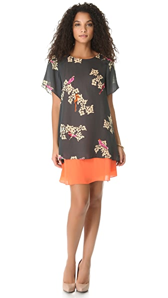 Rachel Roy Double Layer Dress