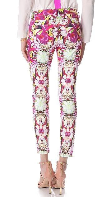 Rachel Roy Floral Skinny Jeans