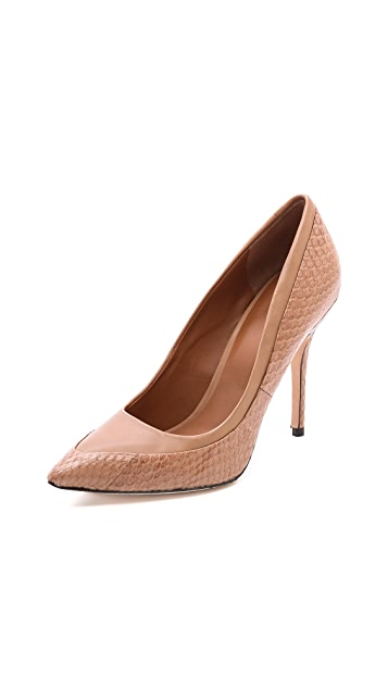 Rachel Roy Ayce Mixed Media Pumps