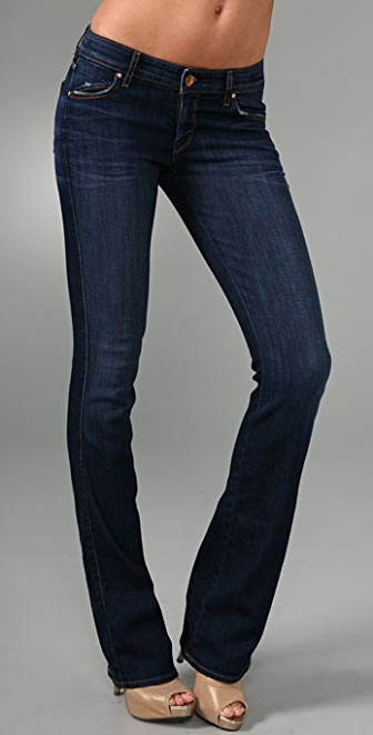 Rich & Skinny Wedge Boot Cut Jeans