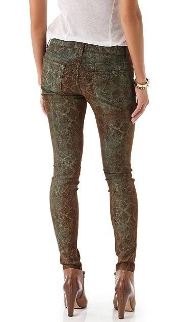 Rich & Skinny Legacy Snake Print Jeans