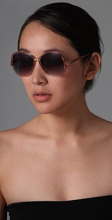 Retrosun Vintage Gucci Square Sunglasses