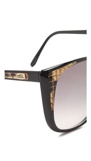 Retrosun Vintage YSL Snakeskin Sunglasses