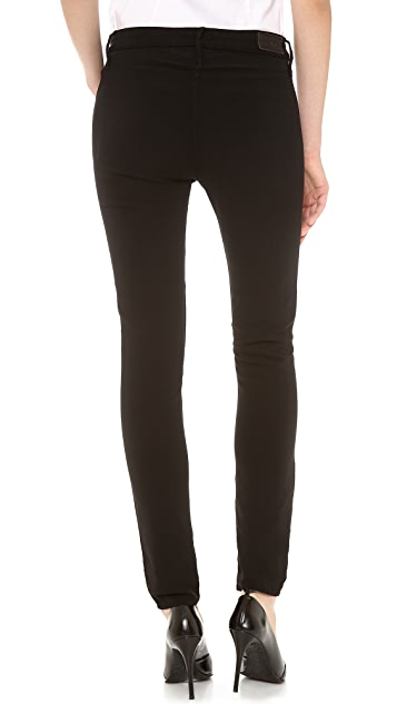 RtA Slouchy Over Skinny Layered Pants