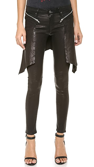 RtA Leather Cobain Pants