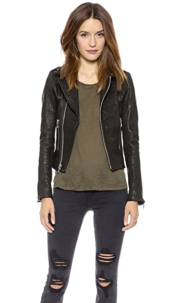 RtA Leather Biker Jacket