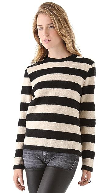 R13 Slim Crew Neck Sweater