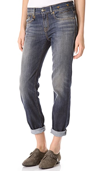 R13 Relaxed Skinny Jeans
