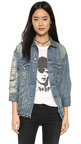 R13 Oversized Trucker Jacket