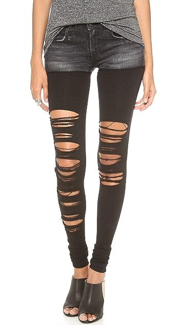 R13 Knit Chap Jeans