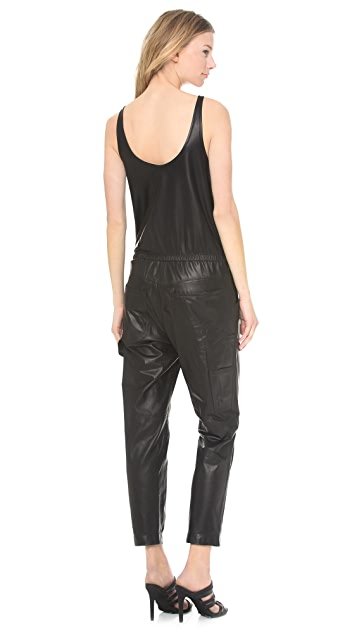 R13 Leather Jumper