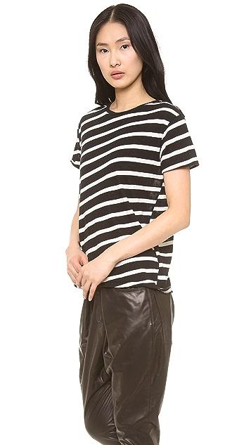 R13 Boy T Shirt with Stripes