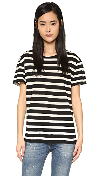 R13 Boy Striped Tee at Shopbop