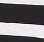 Black/Ecru Stripe