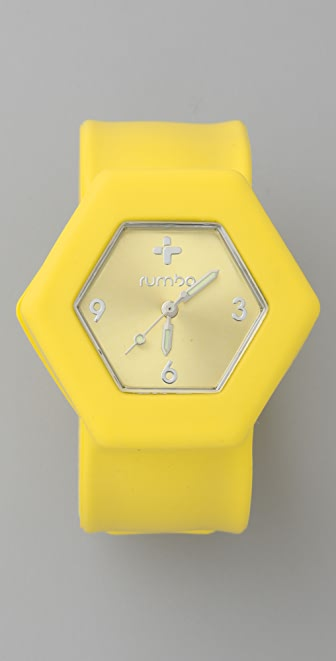 RumbaTime Lemon Drop Slap Watch