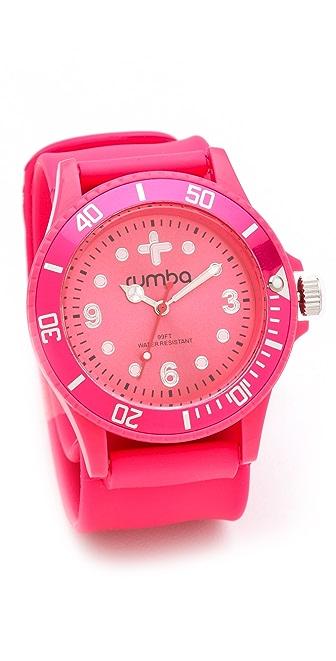 RumbaTime Neon Pink Perry Slap Watch