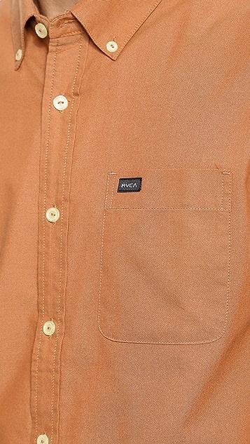 RVCA That'll Do Oxford Shirt