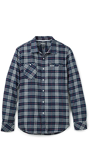 RVCA Bazz Plaid Shirt