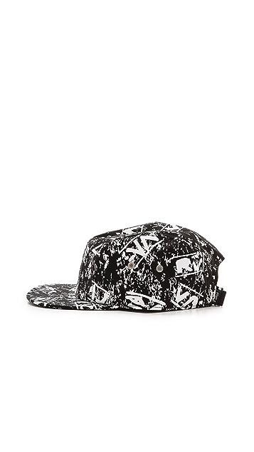 RVCA Glyph 5 Panel Hat