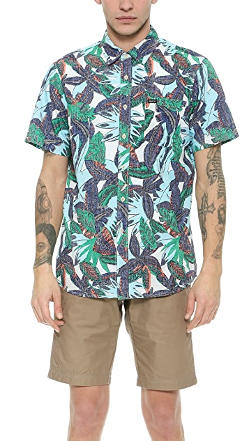 RVCA Jungle Leaves Shirt