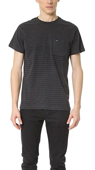 RVCA Switch Up Crew Tee