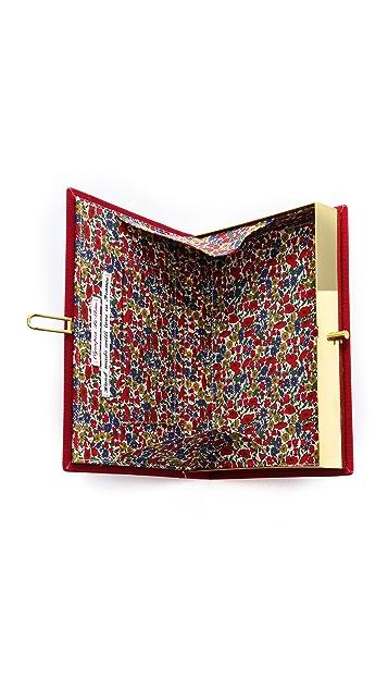 Rachel White Vintage Olympia Le Tan Limited Edition Novel Clutch
