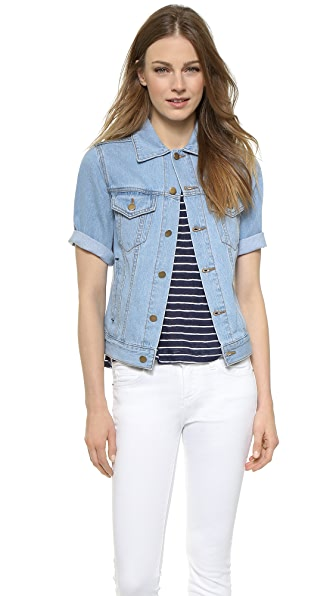 Ryder Short Sleeve Denim Jacket | SHOPBOP