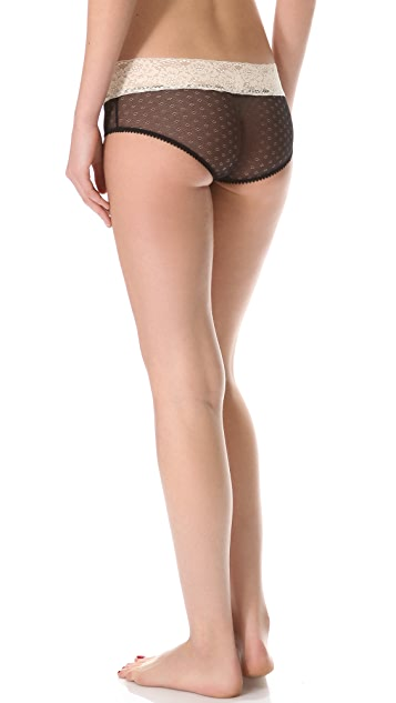 Samantha Chang Lingerie Meet Me at Midnight Boy Shorts