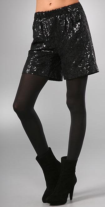 Sachin & Babi Sogol Sequin Shorts