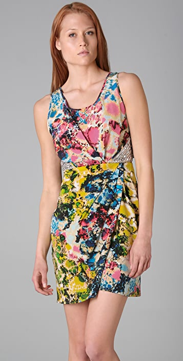 Sachin & Babi Psychedelic Print Dress