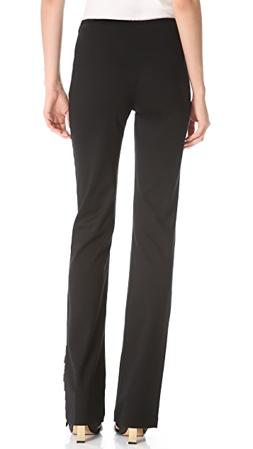 Sally LaPointe Elastic Strap Pants