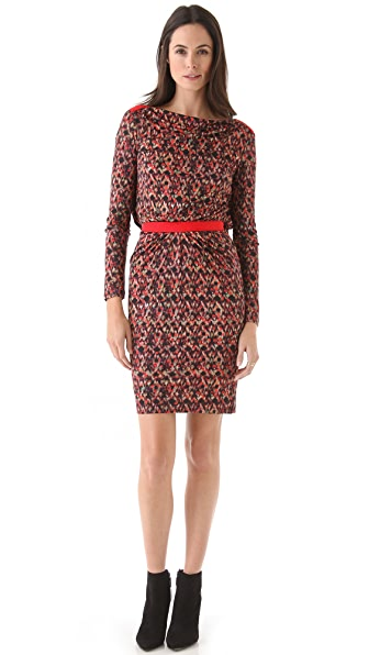 Saloni Frida Beaded Shift Dress