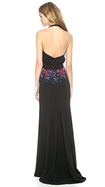 Saloni Rhianne Long Dress