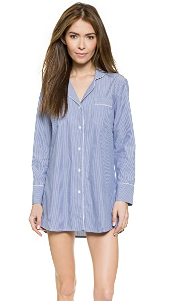 Salua Striped Boyfriend PJ Shirt