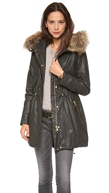 SAM. Hudson Parka with Fur Trim