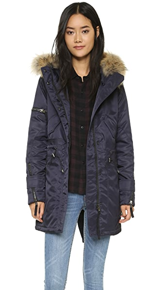SAM. Flight Satin Hudson Parka
