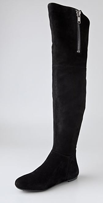 Sam Edelman James Suede Over the Knee Boots | SHOPBOP