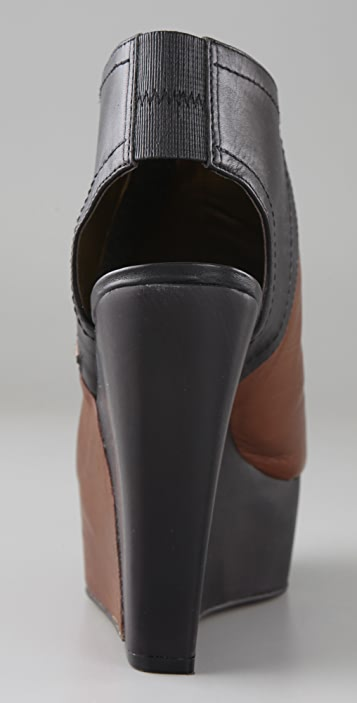 Sam Edelman Wynn Open Toe Platform Booties