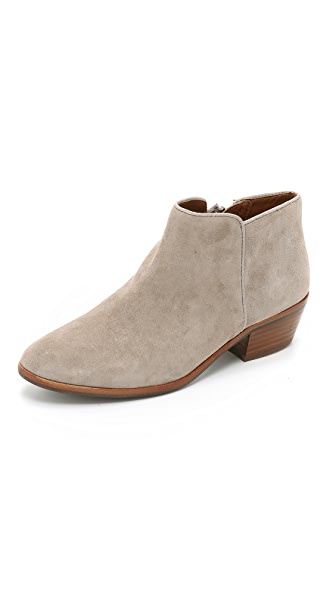Sam Edelman Petty Suede Booties - Putty