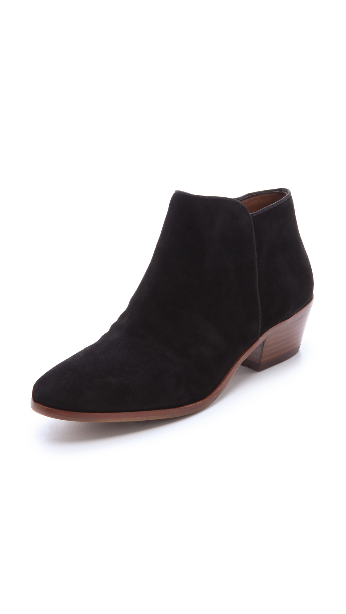 e48f82c2c Sam Edelman Petty Suede Booties - Black