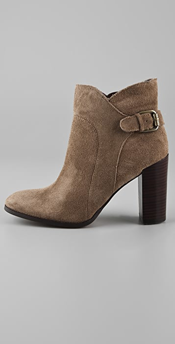 Sam Edelman Loni Suede High Heel Booties