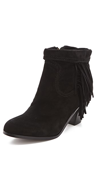 Sam Edelman Louie Fringe Booties